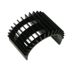 Fan-Shaped Motor Heat Sink for 540 Motor (Black)