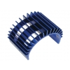 Fan-Shaped Motor Heat Sink for 540 Motor (Blue)