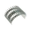 Fan-Shaped Motor Heat Sink for 540 Motor (Silver)