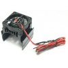 Motor Heat Sink w/Top Extended Electric Cooling Fan for 540 Motor (Black)