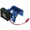 Motor Heat Sink w/Side Extended Electric Cooling Fan for 540 Motor (Blue)