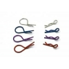 Long Body Clip - Large Tip Silver (5 pcs)