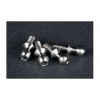 4.3mm Ball Stud w/ 2mm Hex Socket (Short) (Titanium 64) (4 pcs)