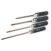 Ultra Hard Slotted Head Screwdriver Set (4 pcs)