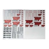 Top Decal Sheet