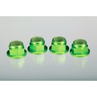 Aluminum 4mm Axle Nuts (4): Grave Digger Featured Photo