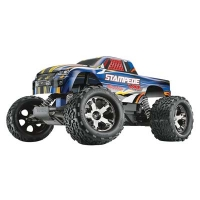 Stampede VXL Brushless RTR with Wireless-Enabled TQi 2.4GHz Radio and 7-Cell NiMH iD Battery Featured Photo