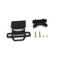 Front Bumper & Bumper Mount, Black: Monster Jam Featured Photo