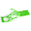 Front & Rear Skid Plates, Green: Monster Jam