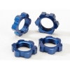 Blue Anodized Wheel Nuts,17mm(4):Revo3.3,E-Revo