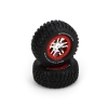 Red Bdlk Wheel, w/ BFGoodrich Tire (2):Slayer 4x4