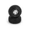 Blk Bdlk Wheel, S1 Compound Tire (2): Slayer 4x4