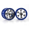 "Geode 2.2"" Wheels, Blue (2) 12mm Hex:1/16 Summit"