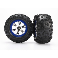 Geode Wheels,Blue & Canyon AT Tires(2):1/16 Summit Featured Photo